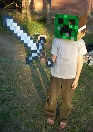 Steve Minecraft Halloween Costume 25 Creeper Costume Ideas Minecraft Costumes