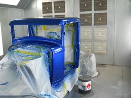 Old Ford Truck Information - painting the old timer jmc autoworx