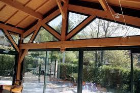 verre pour veranda véranda bois u2013 modèles de vérandas à ossature bois extensions