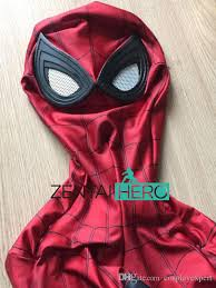 Spiderman Costume Halloween Zentaihero Civil War Spiderman Costume 3d Shade Spandex 2017