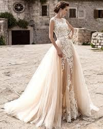 hatail bridal applique sleeveless lace mermaid wedding dress all