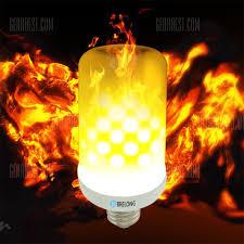led flame effect fire light bulbs brelong e27 led flame effect fire light bulbs 2835 x 99smd ac85