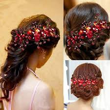 hair accessories for women new design flower wedding bridal hair jewelry party