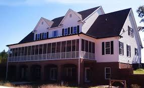 country home plans with porches 3 story 5 bedroom home plan with porches southern house plan