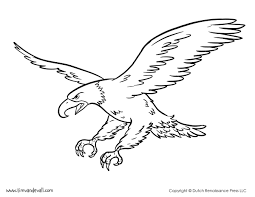 eagle coloring page with eagle coloring pages 9619 click to see
