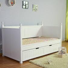 Solid Wood Bed Frame Nz Kids European Design Siesta White Nz Pine Girls Princess Single