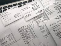 tags wireframe dribbble