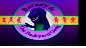 Barney U0027s Backyard Gang Barney by Color Cc66ff Design Collection Gogo Papa Com