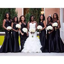 black bridesmaid dresses black bridesmaids dresses black is the new black