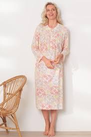 robe de chambre femme coton chemise de nuit manches longues nuit robes de chambre chemises