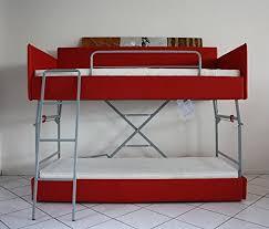 canape lit superpose canapé lit superposé avec mécanisme innovant avec trois sécurités