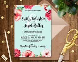 wedding invitations hawaii hawaii wedding invitations plumegiant