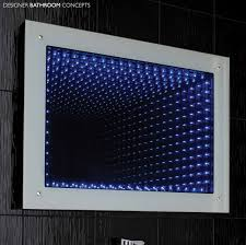 lucio infinity led bathroom mirror main image berlin