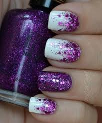 beautiful purple nail designs the home design
