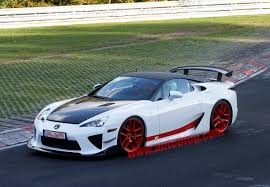 lexus lfa lexus lfa ad x special edition spied at the track car