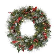 improvements indoor outdoor lighted christmas garland improvements pre lit classic lighted christmas wreath 30 white