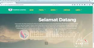 membuat web html pemrograman html xml css mambruk studio bangun tong pu tanah