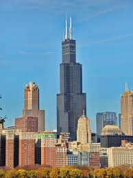 Sears Tower Willis Tower Chicago Formerly Known Sears Tower The Shape Is As