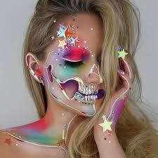 instagram insta glam halloween makeup halloween makeup best 25 galaxy makeup ideas on pinterest crazy makeup costume
