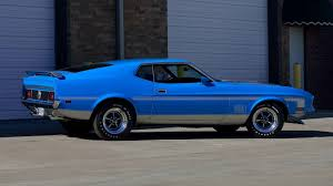 Mustang Mach One 1971 Ford Mustang Mach 1 Fastback F155 Indy 2016