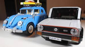 lego volkswagen mini lego volkswagen golf gti mk1 is the ultimate retro toy