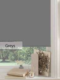 Roller Blinds Online Buy Blinds Online Made To Measure Grey Senses Roller Blinds