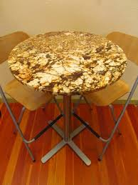 Granite Top Bistro Table Granite Bistro Table Bonners Furniture