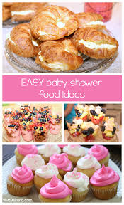 love these easy baby shower food ideas favorite pins