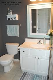 room reveal half bath a painted house