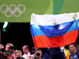 Flag Im Ioc Richtlinie Russische Flagge Im Zimmer Erlaubt