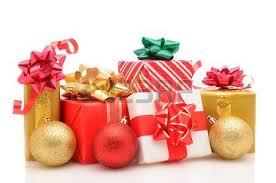 wrapped christmas boxes various type of gift boxes isolated on white stock photo picture