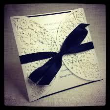 wedding invitations ideas diy wedding invitation ideas navy blue diy wedding inviations ribbon
