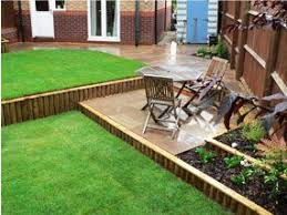 a sloping garden built by wyld landscapes sloping garden