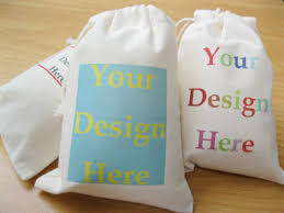 muslin favor bags custom muslin bag fabric gift bags drawstring calico bags logo