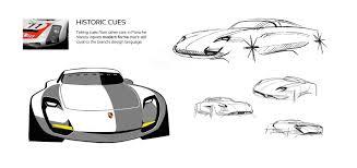 porsche concept sketch this porsche 901 concept will leave you drooling autoevolution
