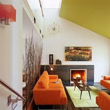 simple orange living room furniture orange living room furniture