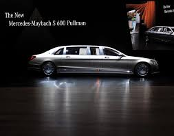 mercedes maybach 2015 mercedes maybach s 600 pullman photos geneva motor show 2015
