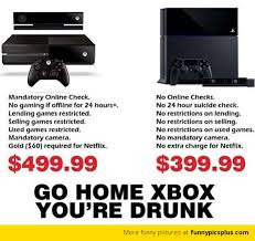 Xbox One Meme - ps4 vs xbox one meme funny ps4 vs xbox one jokes share yours