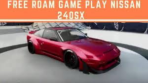 nissan 240sx widebody forza horizon 3 free roam game play nissan 240sx youtube