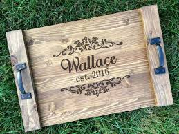 personalized serving trays 15 best acrylic trays images on personalized wedding