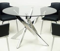 table round glass dining room tables asian compact elegant round