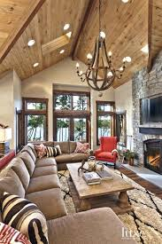 lake home interiors mountain home decor idea best mountain house decor ideas on rustic