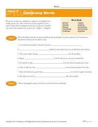 high spelling words list 27 combining words