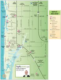 map of naples fl naples map napleshomes com