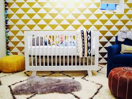 Stick On Wall How To Design A Cozy Nursery With Fun Fancy Schmanciness Homejelly