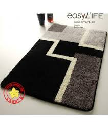 Modern Bathroom Rugs Geometric Modern Bath Rugs Da5476 Wholesale Faucet E Commerce