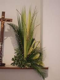 palms for palm sunday purchase palm sunday rugged cross in church sanctuary description from