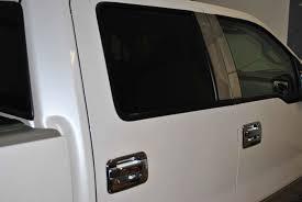 Ford F 150 Truck Crew Cab - 2004 2008 ford f 150 chrome pillar post trim 4pc super crew