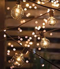 Patio Globe Lights Globe Light Strings Home Design