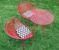 retro patio furniture simple lounge chairs vintage patio chairs